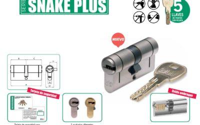 Nuevo #cilindro de alta seguridad #SnakePlus