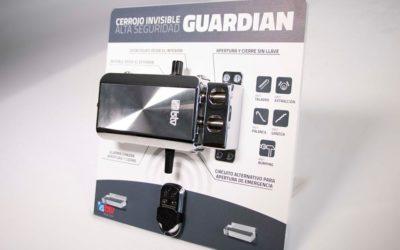La cerradura Guardian es invisible para los ladrones